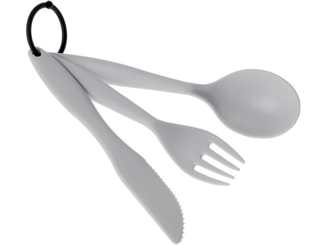 GSI Tekk Cutlery Set eggshell
